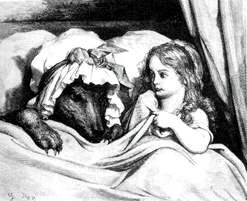 Caperucita se ha perdido en el bosque: el lobo no acudió a su cita con ella